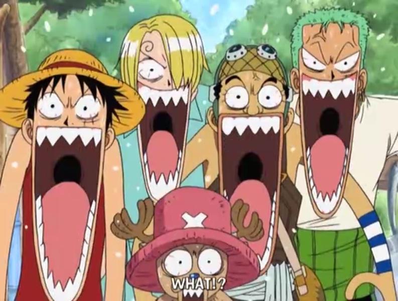Смешные картинки аниме ван пис