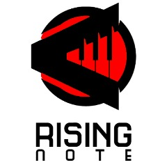 Rising Note Red